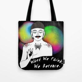 Hipster Buddha Tote Bag