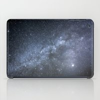 milky way iPad Cases featuring Milky Way by Astrophotos by McLeod