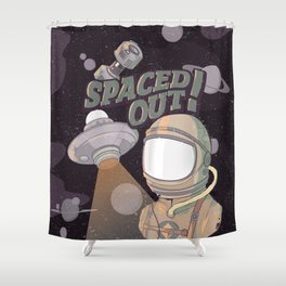 Spaced Out! Shower Curtain