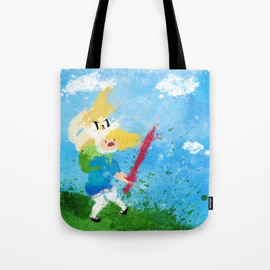 I'm all about swords! Tote Bag