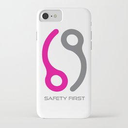 Skydive Safety Pin iPhone Case
