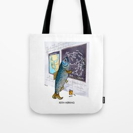 Keith Herring Tote Bag