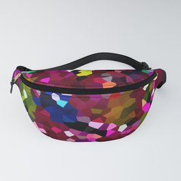Mermaid Tail Ruby Red Pattern Fanny Pack
