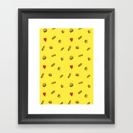 Fast Food Friday Framed Art Print