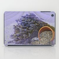 lavender iPad Cases featuring Lavender by Fran Walding