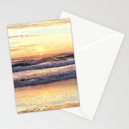 Golden Beach Sunrise Stationery Cards