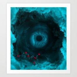 Eye of the sky Art Print