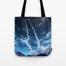 Daburu Space Project Tote Bag
