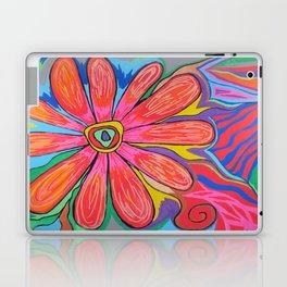 First big flower Laptop & iPad Skin