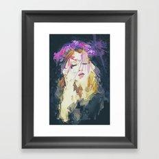 Path - Abstract Portrait Framed Art Print