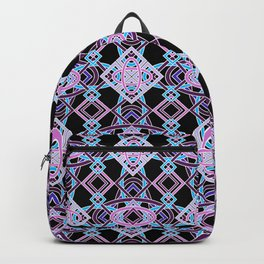 Don't Be Cross- BlackLight Purples Backpack