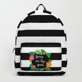 Focus on the good Backpack