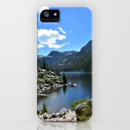 lava lake iPhone Case