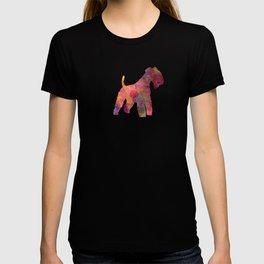Lakeland Terrier in watercolor T-shirt