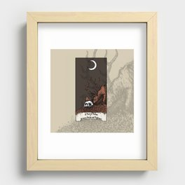10 Yars of Visions  Between Dream and Nightmare Recessed Framed Print