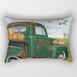 The Pumpkin Truck  Rectangular Pillow