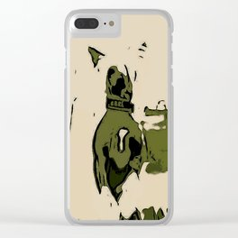 Chinese crested 3 Clear iPhone Case