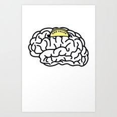 Add Value Art Print