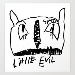 Little Evil II Art Print