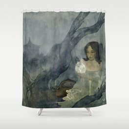 Siti's Magic Egg Shower Curtain