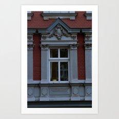 Berlin window Art Print