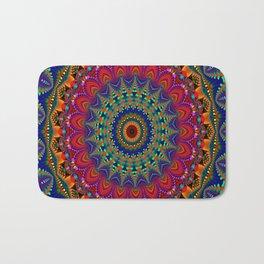 Kaleidoscope mandala pattern Bath Mat