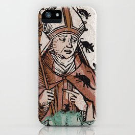 Archbishop Hatto eaten alive by mice in 974 A.D. iPhone Case