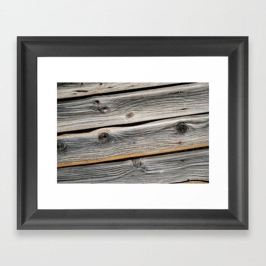 Wood Grain 2 Framed Art Print