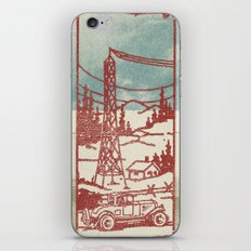 Rainfall of the World iPhone & iPod Skin