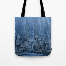 Submerged City Tote Bag