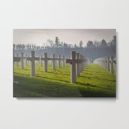 Meuse-Argonne American Cemetery Metal Print