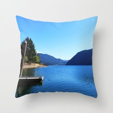 Landscape photo, Olympic National Park in Seattle Throw Pillow