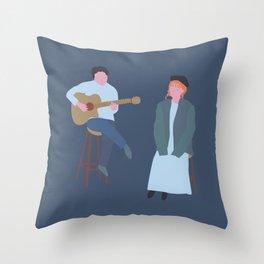Singing that song Throw Pillow