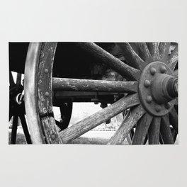 Wagon Wheel #4 Rug