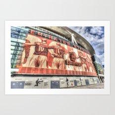 Arsenal FC Emirates Stadium London Art Print