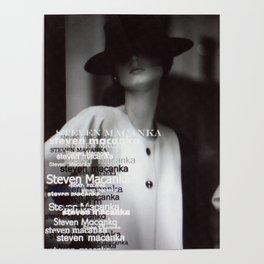 New York Fashion 1974 Poster