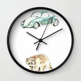 Roadkill Wall Clock