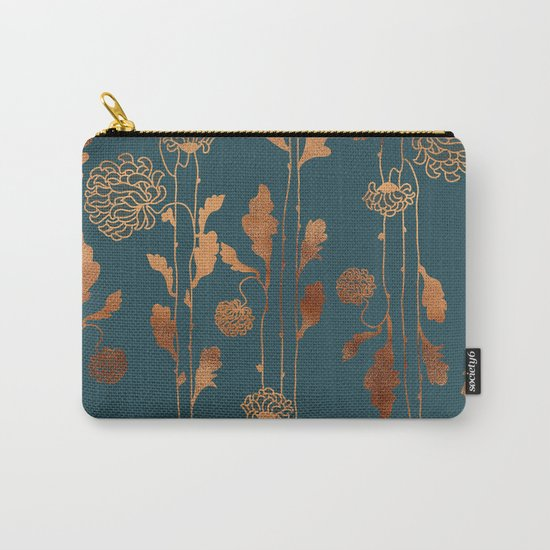 Art Deco Copper Flowers  by betterhome