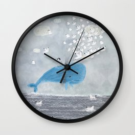 up and up Wall Clock