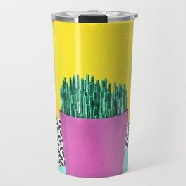 Cactus Fries 90s Style Travel Mug