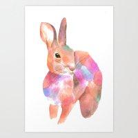 rabbit (2016) Art Print