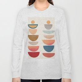 Modern Abstract Art 75 Long Sleeve T-shirt