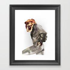 The Cat Dude Framed Art Print
