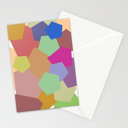 Colliding Colors Stationery Cards