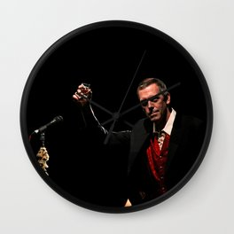Hugh Laurie - II Wall Clock