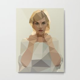 Blonde Summer Metal Print