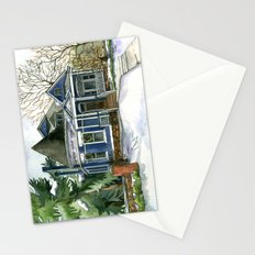 Winter Blues Stationery Cards