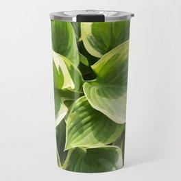 Hosta Plant Travel Mug