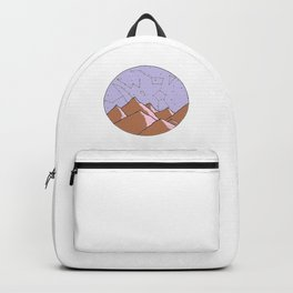 Constellation Mountains Backpack