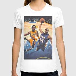 K.B King of  Basketball Art Print05 T-shirt